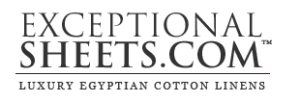 Exceptional Sheets Logo
