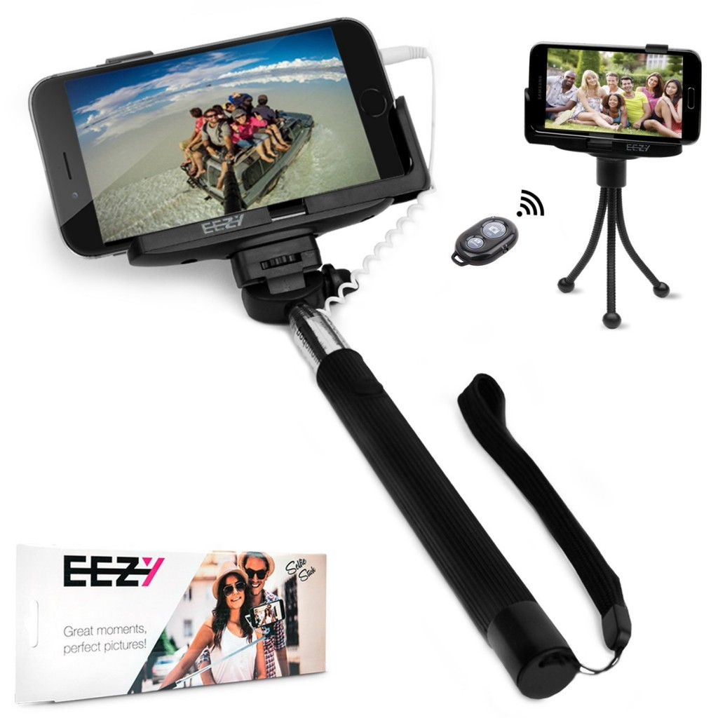 entertowin 1 of 8 eezy selfie sticks giveaway freebies deals steals. Black Bedroom Furniture Sets. Home Design Ideas