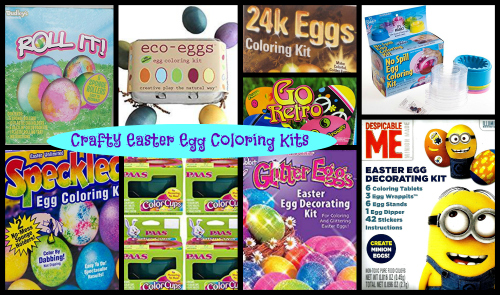 crafty easter egg coloring kits freebies deals steals