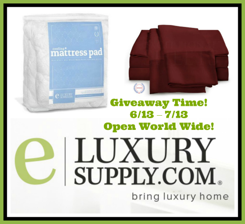 eLuxury Supply Summer Cool Down Giveaway